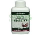 MedPharma Diabetes skoř. k.alfa-lip. chrom tbl.67
