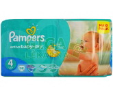 PAMPERS Active Baby VPP 4 Maxi 8-14kg 58ks