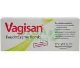 Vagisan Zvlhčující krém Kombi 10g + 8 čípků