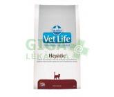 Vet Life Natural Feline Dry Hepatic 2kg