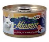 Miamor Feine Filets cat konz. - kuře, šunka 100g