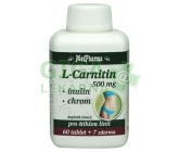 MedPharma L-Carnitin 500mg+Inulin+Chrom tbl.67