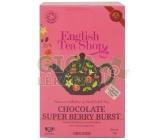 English Tea Shop Bio Příval Čokolády a Super Ovoce 20s.