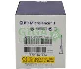 BD Microlance Inj. jehla 20G 0.90x40 žlutá 100ks