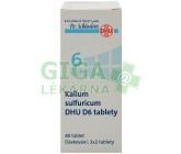 No.6 Kalium sulfuricum DHU 80 tablet D5-D30