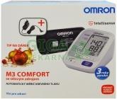 Tonometr dig.OMRON M3 Comfort +sítový zdroj (SET)