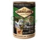Carnilove WM konz. Duck & Pheasant Grain Free 400g