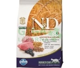 N&D Low Grain Cat Adult Lamb & Blueberry 0,3kg