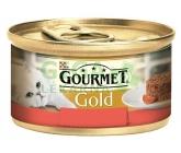 Gourmet Gold cat konz.-Savoury Cake hovězí,rajče 85g