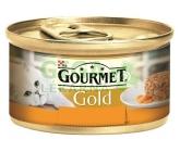 Gourmet Gold cat konz.-Savoury Cake kuře,mrkev 85g