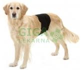 Inkontinenční kalhoty pro psy černé 40x10cm