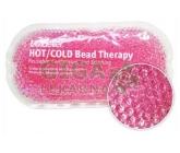 Chladivý/hřejivý polštářek gelové kuličky růžový