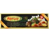 Čokoláda Alprose hořká 74% s mandlemi 300g