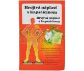 Náplast hřejivá s kapsaicinem (12x18cm)