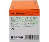 Injekční jehla 0.5x25 oranžová 100ks 9186158