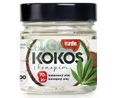 Kokosový olej s konopím 200ml