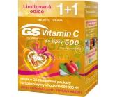 GS Vitamin C500 se šípky tbl.70+70 dárek 2017
