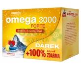 Cemio Omega 3000 Forte cps.60+60 dárek 2017