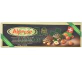 Čokoláda Alprose hořká 74% s lískovými oříšky 300g