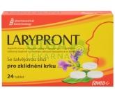 Larypront se šalvějovou silicí tbl.24