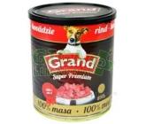 GRAND konz. Superpremium pes hovězí 850g