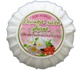 Přírodní kosmetické mýdlo DIVOKÁ RŮŽE  ŠÍPEK 100g