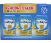 Nutrilon 2 Pronutra 3x800g Výhodné balení
