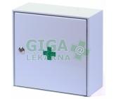 Lékárnička - nástěn.s náplní do10osob-ZM10 kovová