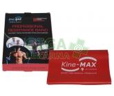 KineMAX Resistance band Posilovací guma červ. 2m