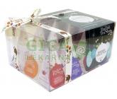 Obrázek English Tea Shop Bio Kolekce zelené ozdoby 12 pyramidek