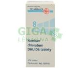 No.8 Natrium chloratum DHU D6 200tbl.