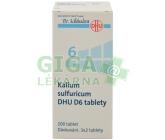 No.6 Kalium sulfuricum DHU D6 200tbl.