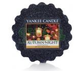 YANKEE CANDLE vonný vosk Autumn Nightvosk 22 g