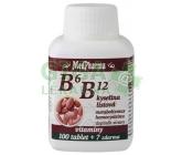 MedPharma B6+B12+kyselina listová tbl.107