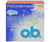 o.b.tampony Pro Comfort Night Super 36
