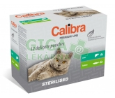 Calibra Cat kapsa Premium Steril. multipack 12x100g