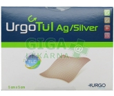 UrgoTul Ag krytí lipidokoloid.vrstva 5x5cm 10ks