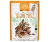 Čokoláda BIO lámaná mléčná 36% mandle a kokos 120g