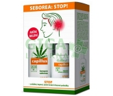 Cannaderm Capillus šampon+sérum Seborea duo pack