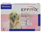 Effitix pro psy Spot-on L (20-40 kg )4 pipety