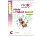 Obrázek Viacell D122F Dětské obrázkové náplasti 20ks
