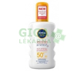 NIVEA SUN Spr.na opal.Sensitive OF50+200ml č.86094