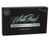 White Pearl bělící proužky na zuby s aktivním uhlíkem a kokos. olejem 28 ks