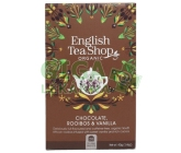 English Tea Shop Bio Čaj Čok.Rooibos Vanilka 20s.