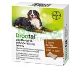 Obrázek Drontal Plus flavour 2 tablety pro psy na 35kg