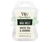 WoodWick White Tea & Jasmine 22,7 g vonný vosk