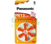 Baterie do naslouchadel Panasonic PR13(PR48) 6ks