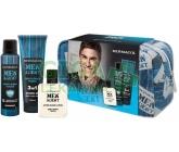 Dermacol Men Agent Gentleman Touch 3v1 pro muže kosmetická dárková sada