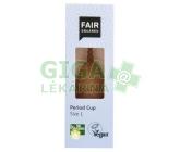Fair Squared Kalíšek menstruační L z přírodního latexu s látkovým sáčkem
