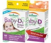 JAMIESON Baby-D3 Vitamín D3 400 IU kapky 11.7ml